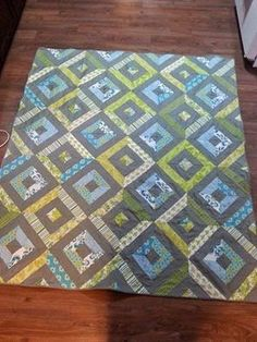Summer in the Park quilt Jelly Roll Quilt Patterns, Quilt Patterns Free, Free Pattern, Man Cave Quilts, Summer In The Park, Jellyroll Quilts, Strip Quilts, Contemporary Quilts, Baby Quilts