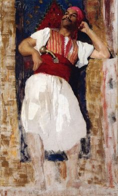 The Athenaeum - Moorish Figure (Julian Alden Weir - )