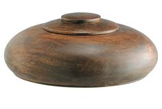 Round Wood Box on OneKingsLane.com