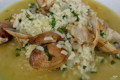 arroz de ameijôas * clam's rice