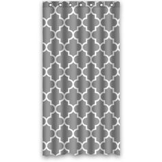"Custom Classic Grey and White Quatrefoil Polyester Fabric Shower Curtain 36"" X 72""(90cmx 180cm), http://www.amazon.com/dp/B00KR8G2HA/ref=cm_sw_r_pi_awdm_.ykhvb115GVJK"