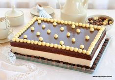 Anna Olson, Tiramisu, Mousse, Chocolates, Cake, Ethnic Recipes, Desserts, Food, Chocolate Frosting