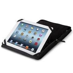 A compact iPad case capable of storing almost all of your office essentials