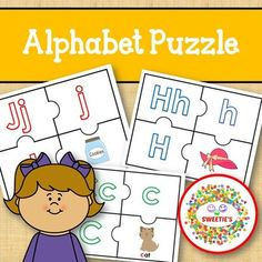 Alphabet Puzzle Teaching Toddlers Abc, Learning Resources, Educational Activities, School Reviews, Learn To Spell, Learning Letters, Letter Recognition, Literacy Centers, Alphabet