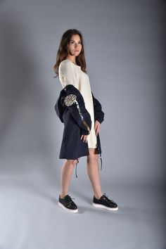 DELUSIONAL Dress with CLOUDY Canvas Coat