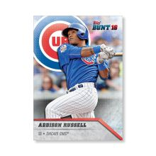 Addison Russell 2016 Topps Bunt Baseball BASE CARDS Poster - # to 99