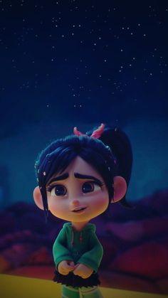 Disney Phone Wallpaper, Cartoon Wallpaper Iphone, Cute Cartoon Wallpapers, Animes Wallpapers, Disney Icons, Disney Art, Disney Pixar, Vanellope Y Ralph, Cute Disney Characters