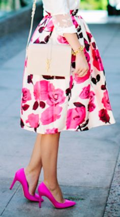 glam rose pink midi skirt http://rstyle.me/n/pkrcgr9te