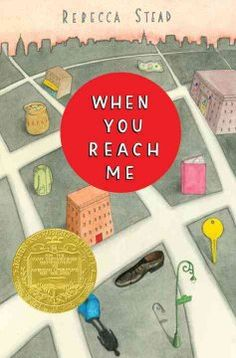 "2010 - When You Reach Me by Rebecca Stead - As her mother prepares to be a contestant on the 1970s television game show, ""The $20,000 Pyramid,"" a twelve-year-old New York City girl tries to make sense of a series of mysterious notes received from an anonymous source that seems to defy the laws of time and space."
