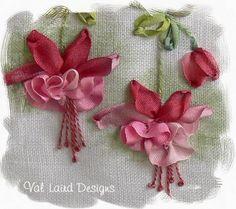 como enmarcar flores bordadas stilo vintage - Buscar con Google