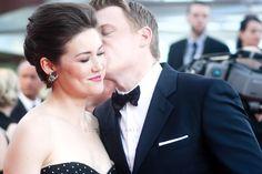 Megan Boone and Diego Klattenhoff/Blacklist/Monte Carlo TV Festival 2014. Keenler. Without a doubt.