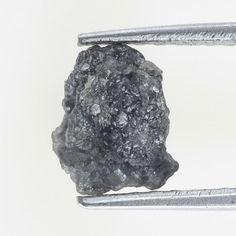 Natural Rough Loose Diamond 1.42 Ct Grayish Color Sparking Diamond
