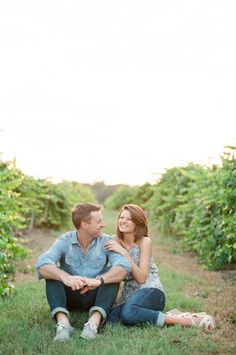 Inspired by This Southern Summer Engagement by Chris Isham Photography - Inspired By This