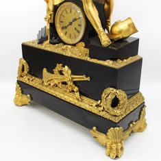French Louis Philippe Pendulum mantel Clock ormolu in Bronze and Marble 1840 ca. Art Decor, Marble, Clock, Bronze, French, Antiques, Ebay, Watch, French People
