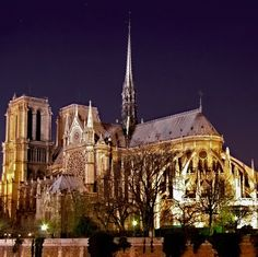 MUST- SEE: Paris's Church - Notre Dame Cathedral   #travel