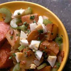 Make this traditional hot salad using just one skillet.
