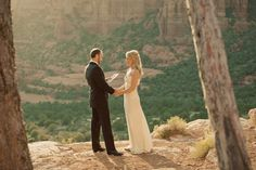 How beautiful it would be to share this moment with only each other. #elopement