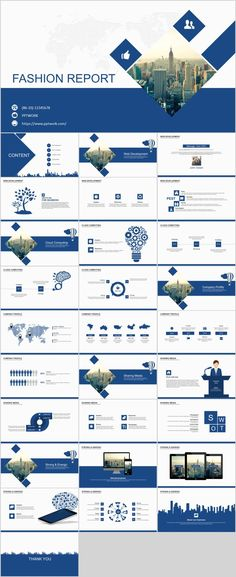 29+ Blue fashion report PowerPoint templates  #powerpoint #templates #presentation #animation #backgrounds #pptwork.com#annual#report     #business #company #design #creative #slide #infographic #chart #themes #ppt     #pptx#slideshow#keynote
