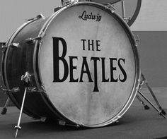 The Beatles kick drum!