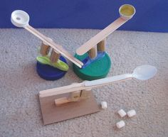 SNOW DAY! Castle and catapult craft for everyone home in their castles!