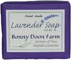 Bonny Doon Farm Fine English Lavender Soap