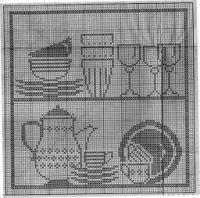 "Gallery.ru / Mongia - Album ""Filet Crochet Point convertidor de Croix 1"""