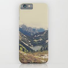 Mountain+Flowers+iPhone+&+iPod+Case+by+Kurt+Rahn+-+$35.00
