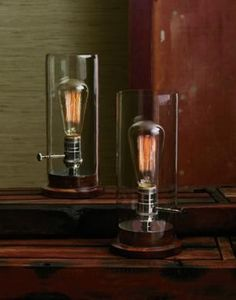 Edison Table Lamp -- just the thing to delight the Inner Geek