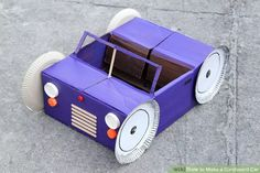 Image titled Make a Cardboard Car Step 14Bullet1