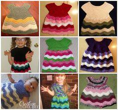 Ravelry: Children's Chevron Dress pattern by Lorene Haythorn Eppolite- Cre8tion Crochet