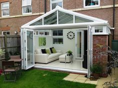 sun room with accordion doors | Want to learn more about bi-fold doors?