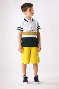 Burberry has the perfect look for your future soccer star.