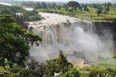 Водопады Голубого Нила (Тис-Ысат), Эфиопия   Falls of Blue Nile (Tis-Ysat), Ethiopia