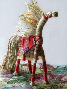 Кукла-оберег Солнечный Конь - интерьерная кукла, коллекционная кукла, кукла-оберег