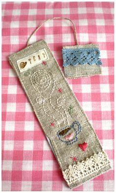 Mirage Bookmark: Cup of Tea Bookmark