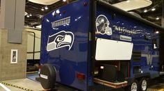 At Seattle RV Show for all you hawk fans