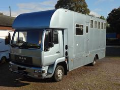 This 2003 7.5 tonne #MAN #horsebox carries up to three horses | For sale on #HorseDeals