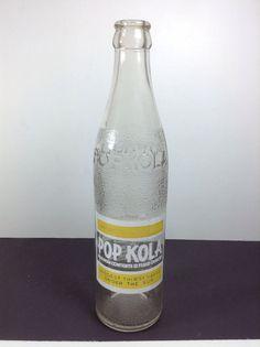 Pop Kola Soda Bottle ACL Conroe TX Vintage Embossed #popkola #cola #soda #pop #popbottle #vintage #generalstore #bottle #sodabottle