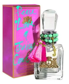 9fb3d0f99912 Juicy Couture Peace Love 3.4 Fl. Oz. Eau De Parfum Spray Women. Designer