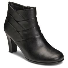 Women's A2 by Aerosoles Best Role Ankle Boots - Black 7.5
