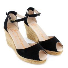 Gaimo Susan Leather Wedge Espadrilles | Spanish Fashion - SPANISH SHOP ONLINE | Spain @ your fingertips #GAIMO #Susan