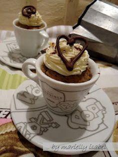 Receta: Cupcakes Capuchino!!