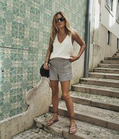 A weekend in lisbon day one fashion me now fashionable style Summer Fashion Trends, Summer Fashion Outfits, Holiday Outfits, Spring Summer Fashion, Spring Outfits, Trendy Fashion, Womens Fashion, Travel Outfits, Summer Fall