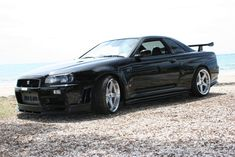 Nissan Skyline R34 GT-R V-Spec II Nur!!!! Long Name but Awesome Looking Car.