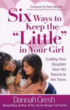 Learn how to connect with your tween daughter during one of the most influential times of her life. Mom and Dad's influence is so important in this stage of development, and Dannah shows you how to make the most of this time.