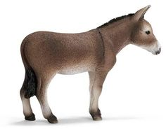 Schleich Donkey by Schleich. $5.29. Global Home: Worldwide. Fun Fact: Donkeys can carry thirty percent of their body weight.. Zoological Name: Equus asinus asinus. 1.2 in L x 4 in W x 3 in H. Conservation Status: Domesticated. Donkeys are built with stocky, sturdy bodies. Serving humans for thousands of years, donkeys have fulfilled many tasks. In helping out on the farm, transporting goods, siring mules, keeping horses company, guarding sheep, and even being ...