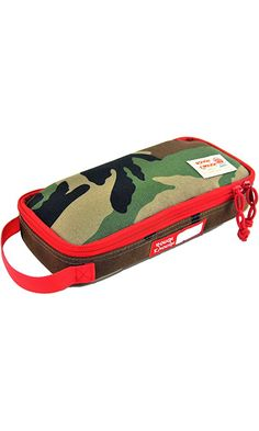 Rough Enough Multi-function Macbook Surface Accessories Tool Pouch /Big Pencil Case Holder Poouch (Camo) Best Price