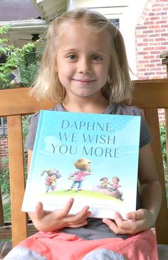A personalized book that pairs the child's name with big wishes.
