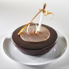 Sweden's chocolate dessert for the 2015 Pastry World Cup. #Sweden #chocolate…