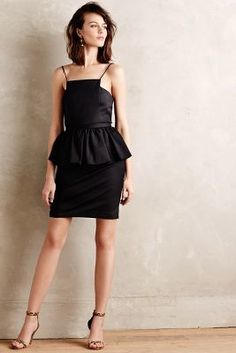 Tracy Reese Pavan Peplum Dress #anthrofave
